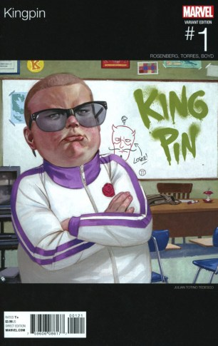 Kingpin Vol 2 #1 Variant Julian Totino Tedesco Marvel Hip-Hop