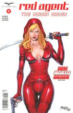 Grimm Fairy Tales Presents Red Agent Human Order #8 Variant Alfredo Reyes
