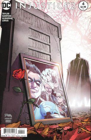 Injustice 2 #4 Daniel Sampere - Juan Albarran