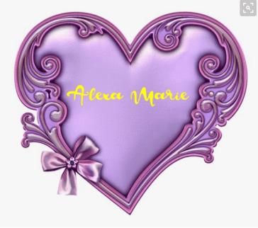 purple and yellow heart