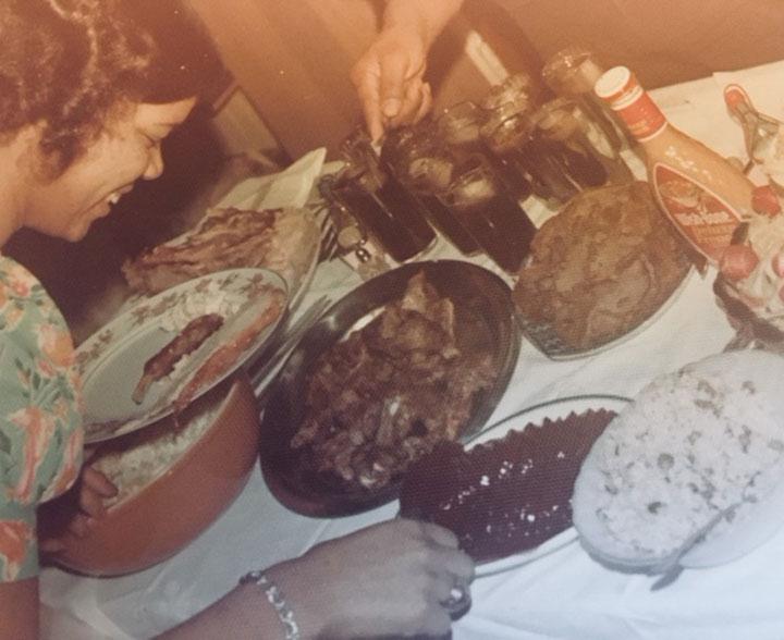Jamaican Family Dinner