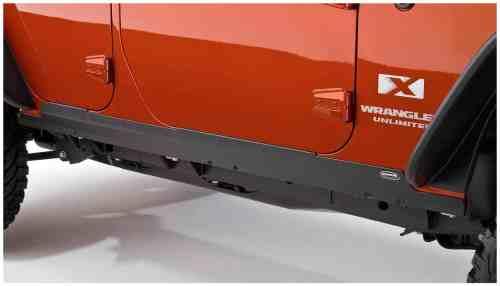 Bushwacker Jeep Trail Armor Rocker Panel & Sill Plate Combo Pair