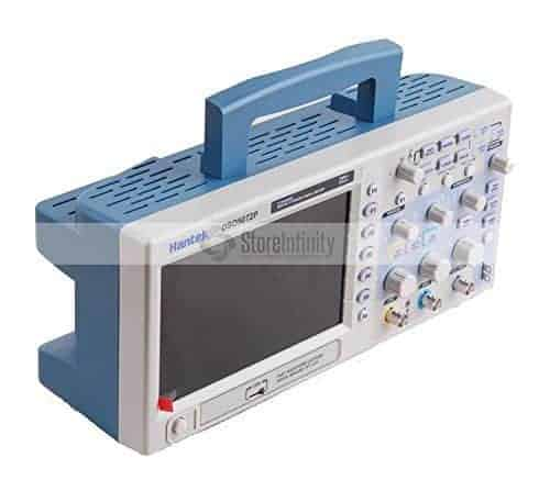 "Hantek DSO5072P Digital Oscilloscope, 70 MHz Bandwidth, 1 GSa/s, 7.0"" Display"
