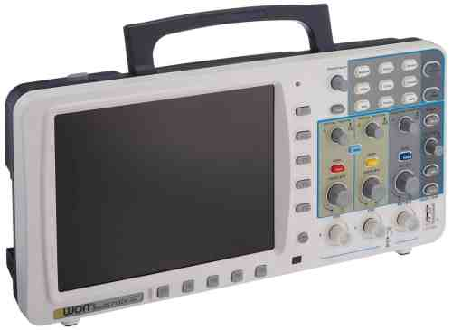 Owon SDS7102 Deep Memory Digital Storage Oscilloscope, 2-Channel with VGA and LAN Interface