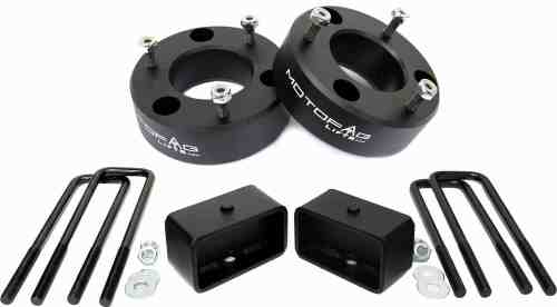 """MotoFab Lifts CH-3F-2R 3"""" Front and 2"""" Rear Leveling lift kit for 2007-2016 Chevy Silverado Sierra GMC"""