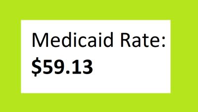 90832 medicaid reimbursement