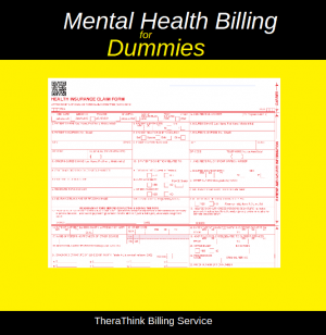 mental health billing for dummies