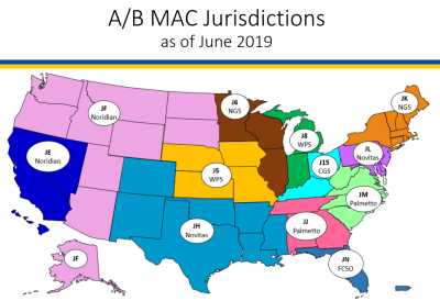 medicare contract map
