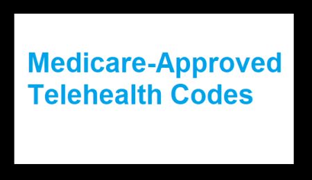 medicare-approved telehealth cpt codes