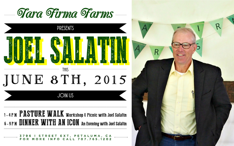 Joel Salatin at Tara Firma June 8