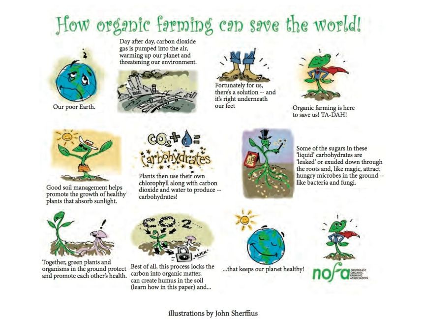 how organic can save the world