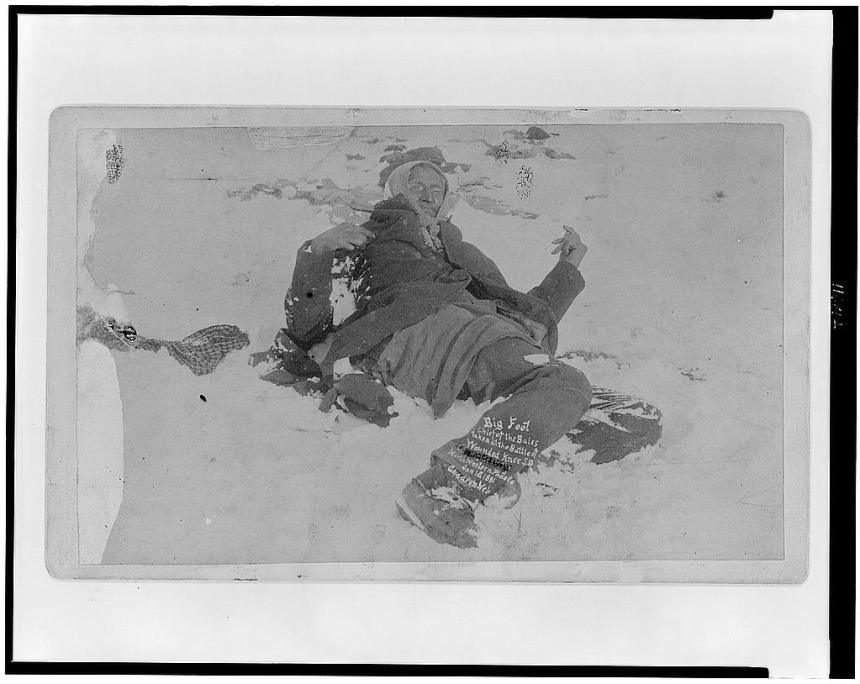 Big Foot at Wounded Knee