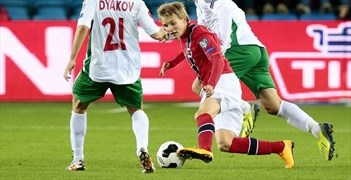 Ødegaard made his competitive Norway debut in the 2-1 win over Bulgaria in October