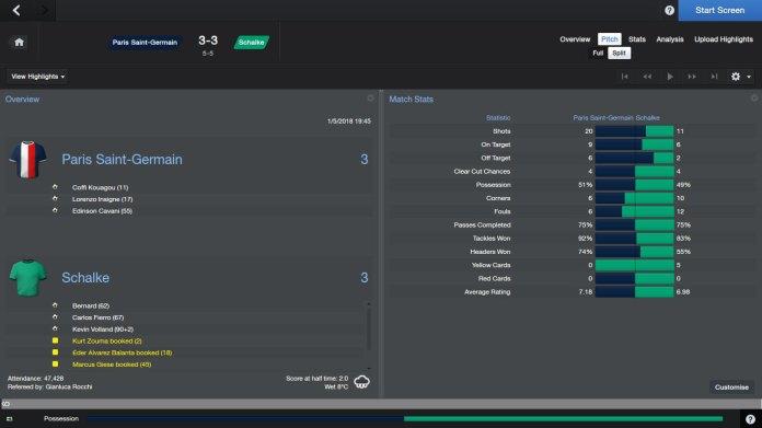 PSG-Schalke-3-3-FT