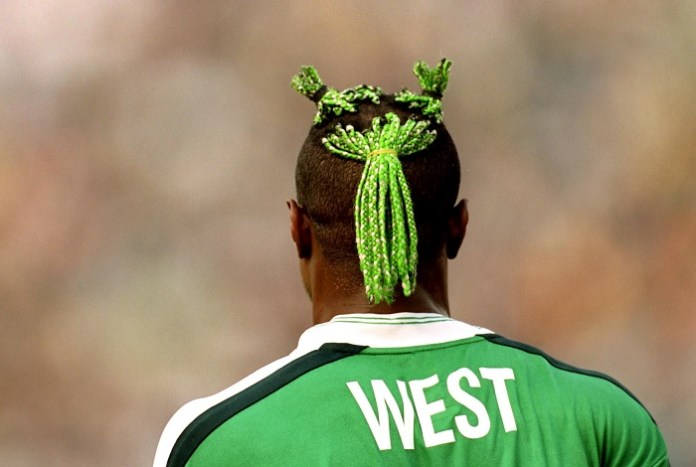 Taribo West Haircut