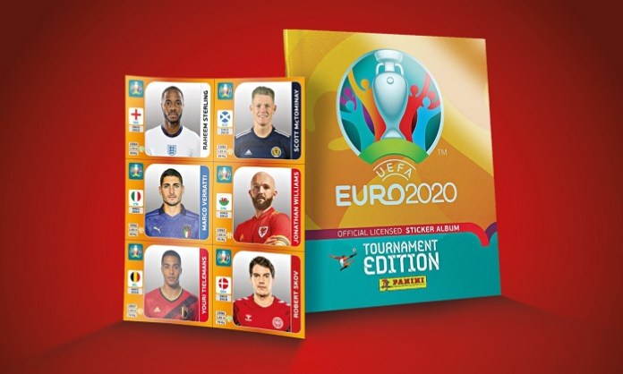 Panini launches Euro 2020 Tournament Edition Official Sticker Collection