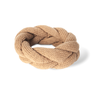 Sand Alpaca Wool Headband - Winter and Autumn Alpaca wool Accessories - ABURY Collection Ecuador