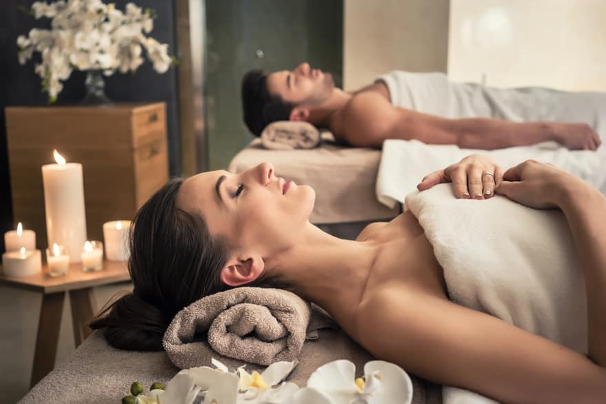 Couples Massage Enhances Relationships | The Raven Spa