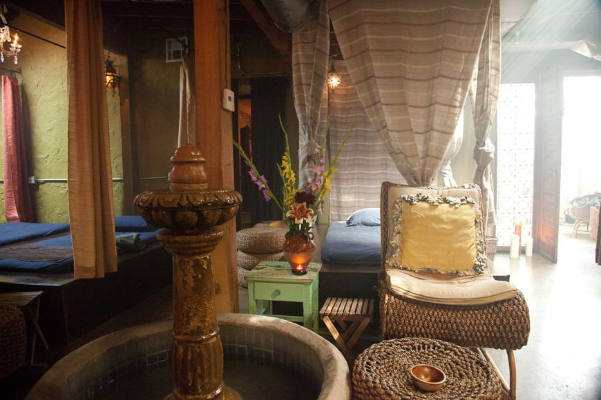 If you can't escape to a tropical island, escape to Los Angeles spa The Raven!