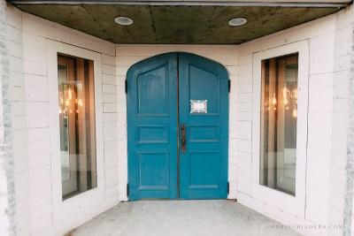 the ravington blue doors