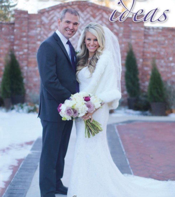 Elopement at The Ravington featured in NWA Wedding ideas magazine