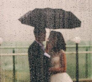 Rain on Wedding Day - The Raviz Ashtamudi