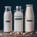 milk, vegan, plant-based, zero waste, zero waste, no dairy, easy, tutorial, how to, milch, Hafermilch, rezept, selber machen, Mandelmilch, Haselnussmilch, ohne plastic, no plastic