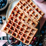 waffles, Waffeln, vegan, delicious, lecker, einfach, simple, baking, backen, vegan, coconut sugar, healthified, wholesome, diet, vollwertkost, yum, yummy, food, dessert, essen, frühstück, simple, simpel, therawberry, foodie, plant-based, food photographie, fotografie, Rezept, recipe , brunch