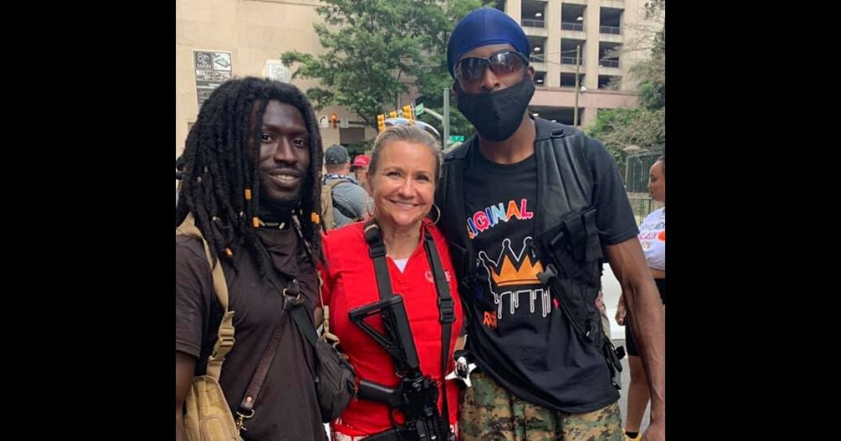 State Senator Shatters Mainstream Media Narrative with Visit to Armed Black Protesters