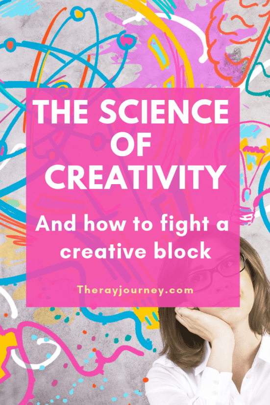 The Science Of Creativity And How To Fight A Creative Block. Pinterest