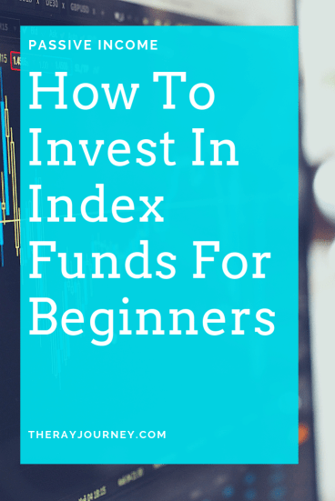 passive income how to invest in index funds for beginners. On Pinterest.