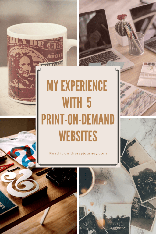Online Business: My Experience with 5 Print-on-Demand Platforms. Pinterest