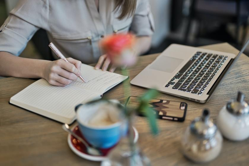 Tracking your progress, journaling