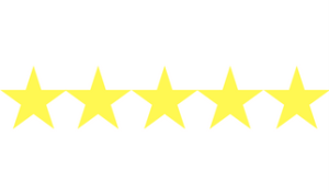 5 Star Book Review Rating