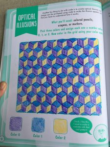 Girls Who Code: Optical Illusion
