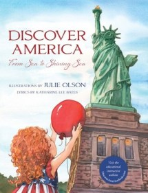 Discover America by Katherine Lee Bates