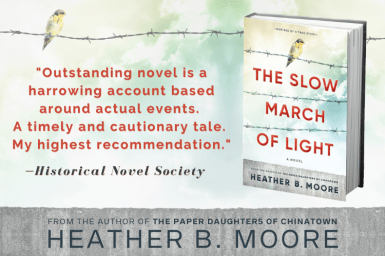 The Slow March of Light Blogger Graphic