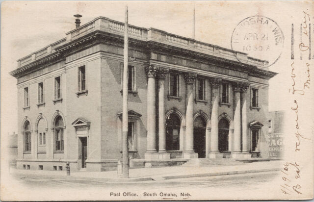 South Omaha branch Post Office