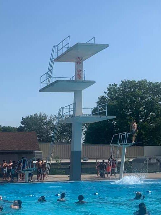 Hitchcock Park Swimming Pool