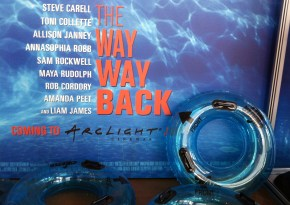 The Way Way Back movie props display