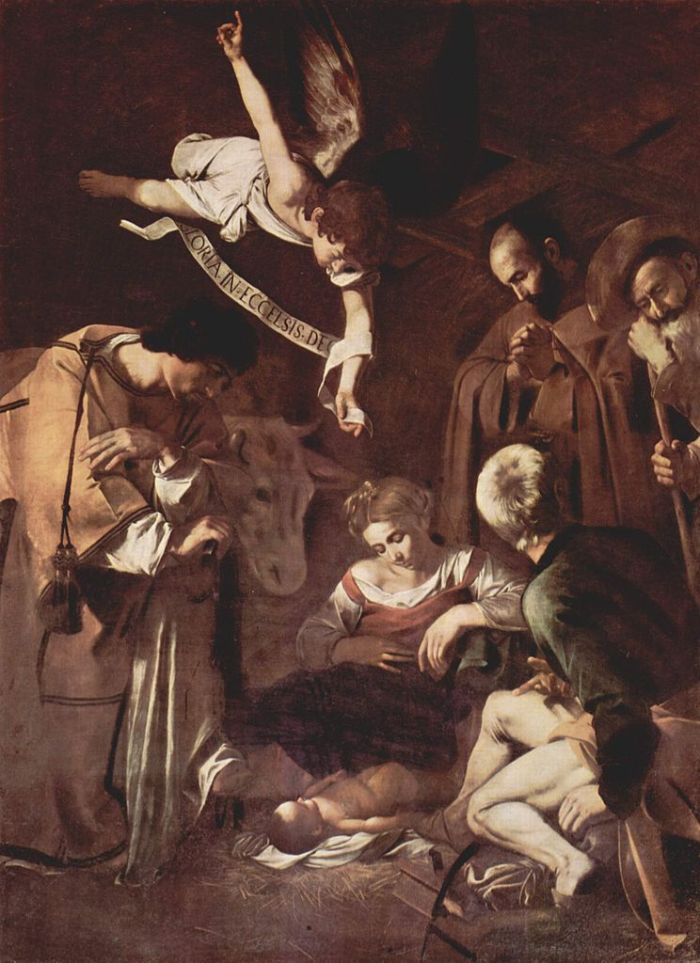Caravaggio Nativity | thereadingmother.net