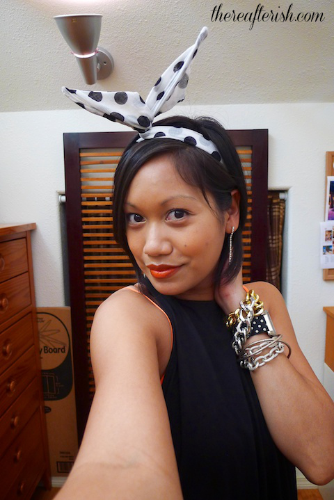 thereafterish, ootd, bunny headband, arm party, hawaii fashion blog, street style