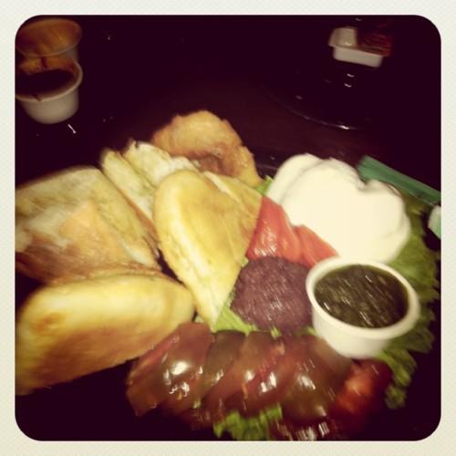 Bruschetta Caprese, Seva Restaurant, Ann Arbor