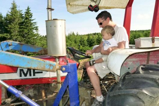 Cape Breton, Judique, Old Farm, Old Tractor