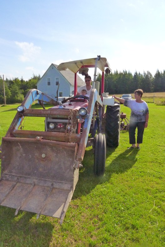 Cape Breton, Judique, Old Farm, Old Tractor
