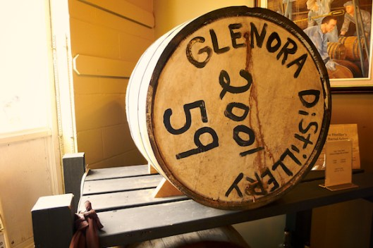 Cape Breton, Glenora Distillery, Single Malt Whisky, Flight of Whisky