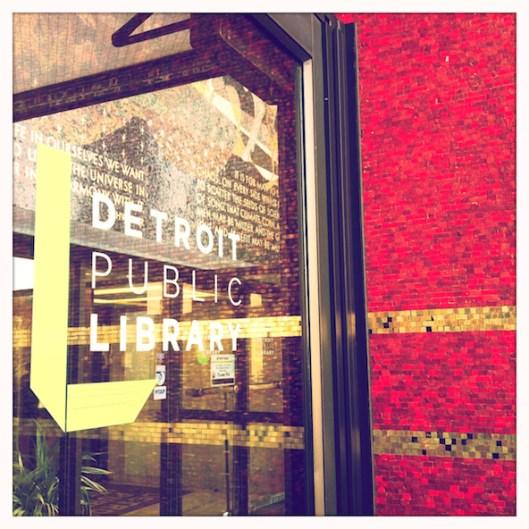 Detroit Historical Society, Detroit Historical Tours, Detroit Public Library