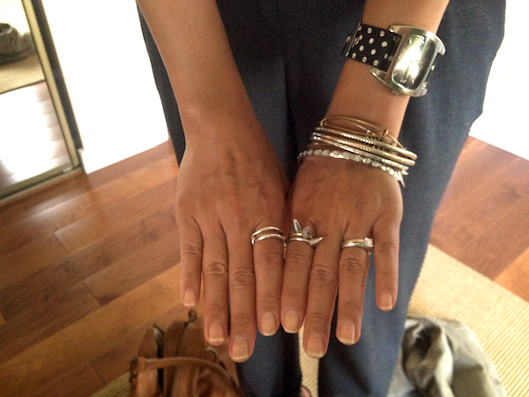 Hawaii Street Style, Silver Armswag, Silver Armparty, OOTD