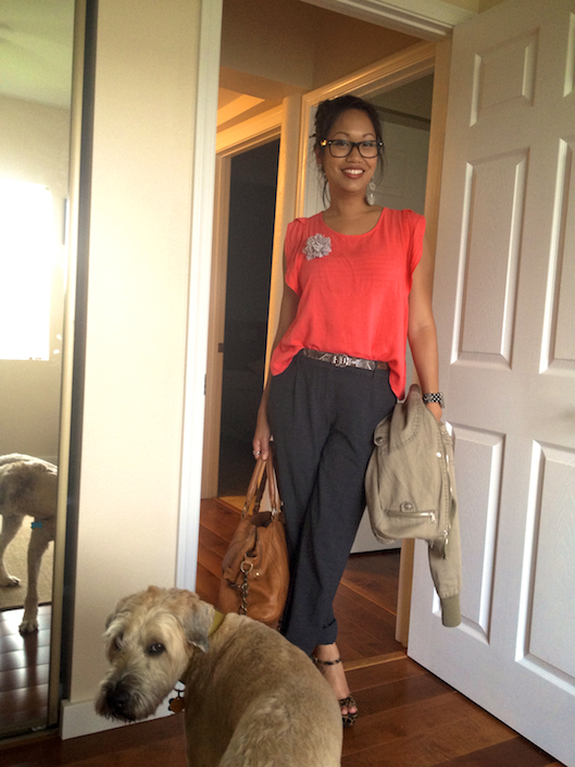 Hawaii Street Style, Spring Brights Trend, Coral Trend, Armswag