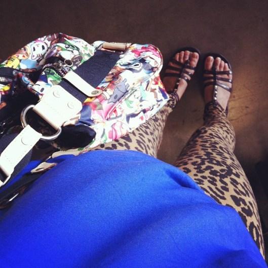 Instagram Hawaii, Hawaii Street Style, OOTD, Leopard Leggings